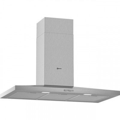 Save £158 at AO on NEFF N30 D92QBC0N0B 90 cm Chimney Cooker Hood - Stainless Steel - D Rated