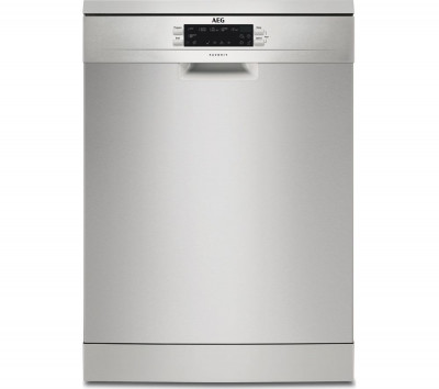 Save £171 at Currys on AEG FFE62620PM Full-size Dishwasher - Silver, Stainless Steel