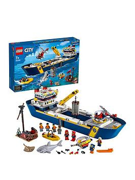 Save £25 at Very on Lego City 60266 Ocean Exploration Ship Floating Deep Sea Boat Model