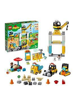 Save £15 at Very on Lego Duplo 10933 Duplo Town Tower Crane With 5 Duplo Figures And 4 Vehicles