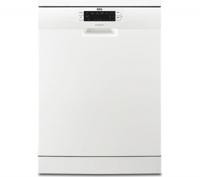 Save £70 at Currys on AEG FFE62620PW Full-size Dishwasher - White, White
