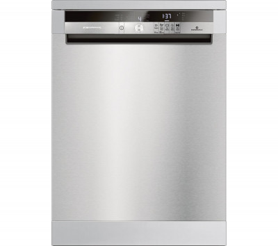 Save £70 at Currys on GRUNDIG GNF41821X Full-size Dishwasher - Stainless Steel, Stainless Steel