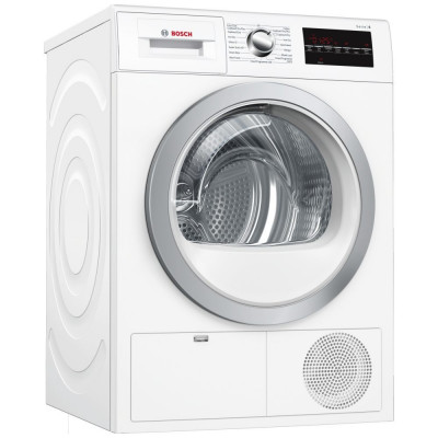 Save £89 at Appliance City on Bosch WTG86402GB 8kg Serie 6 Condenser Tumble Dryer - WHITE