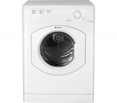 Save £35 at Currys on Hotpoint Tumble Dryer Aquarius TVHM80CP Vented - White, White