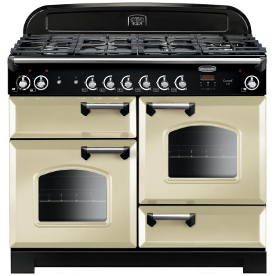 Save £419 at Appliance City on Rangemaster CLA110DFFCR/C Classic 110cm Dual Fuel Range Cooker 116790 - CREAM