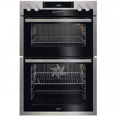Save £140 at AO on AEG DCS431110M Built In Electric Double Oven - Stainless Steel - A/A Rated