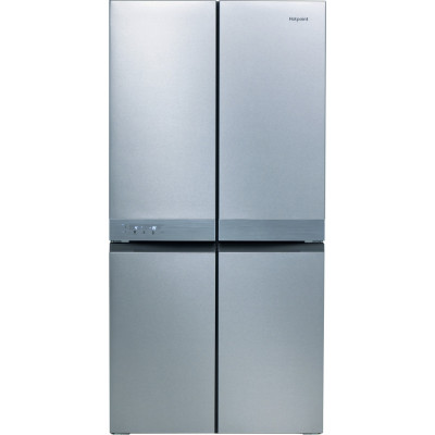 Save £130 at Appliance City on Hotpoint HQ9B1L1 French Style 4 Door Jupiter Fridge Freezer - STAINLESS STEEL