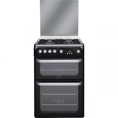 Save £60 at AO on Hotpoint Ultima HUG61K 60cm Gas Cooker with Variable Gas Grill - Black - A+/A Rated