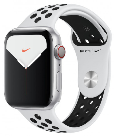 Save £50 at Argos on Apple Watch Nike S5 Cellular 44mm Silver Alu/Black Band