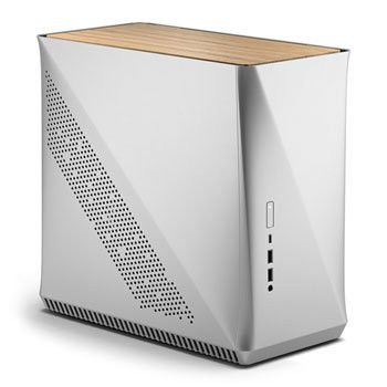 Save £21 at Scan on Fractal Design Era ITX Silver & White Oak Compact PC Case