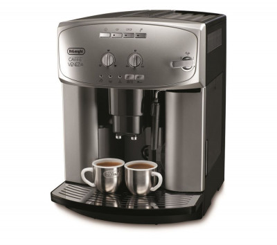 Save £150 at Currys on DELONGHI Caffe Venezia ESAM2200 Bean To Cup Coffee Machine - Silver & Black, Silver