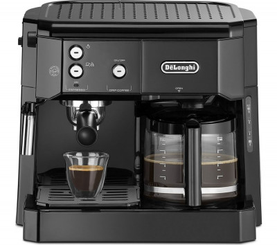 Save £70 at Currys on DELONGHI Combi BCO411.BK Filter & Pump Coffee Machine - Black, Black