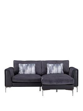 Save £200 at Very on Alder Fabric/Leather Right Hand Chaise Sofa