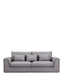 Save £300 at Very on Cedar Fabric 4 Seater Sofa