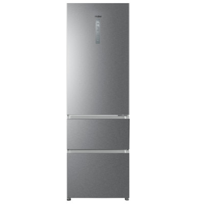 Save £50 at Appliance City on Haier HTR3619FNMP 60cm MyZone Frost Free Fridge Freezer - SILVER