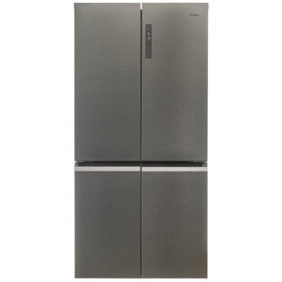 Save £100 at Appliance City on Haier HTF-540DP7 American Style Four Door Fridge Freezer - SILVER