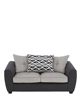 Save £60 at Very on Juno Fabric Compact Scatter Back 3 Seater Sofa