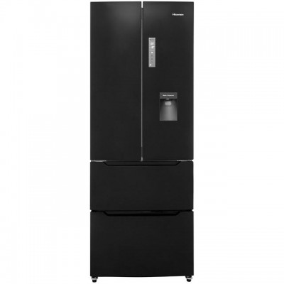Save £70 at AO on Hisense RF528N4WB1 American Fridge Freezer - Black - A+ Rated