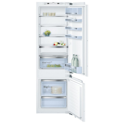 Save £140 at Appliance City on Bosch KIS87AFE0G 177cm Serie 6 Integrated 70/30 Fridge Freezer