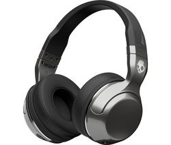 Save £17 at Currys on SKULLCANDY Hesh 2.0 Wireless Bluetooth Headphones - Silver & Black