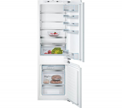 Save £140 at Currys on BOSCH Serie 6 KIS86AFE0G 60/40 Integrated Fridge Freezer - Fixed Hinge