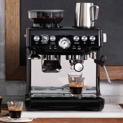 Save £150 at AO on Sage The Barista Express BES875BKS Espresso Coffee Machine with Integrated Burr Grinder - Black