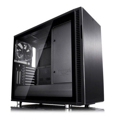 Save £34 at Ebuyer on Fractal Define R6 Blackout Tempered Glass USB-C Midi PC Gaming Case