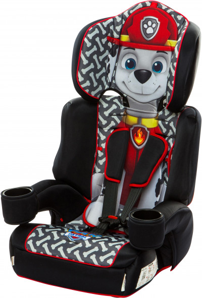 Save £10 at Halfords on Kids Embrace Paw Patrol Marshall Group 123 Carseat