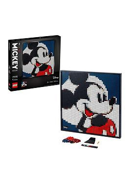 Save £11 at Very on Lego Art DisneyS Mickey Mouse Poster Canvas Set 31202