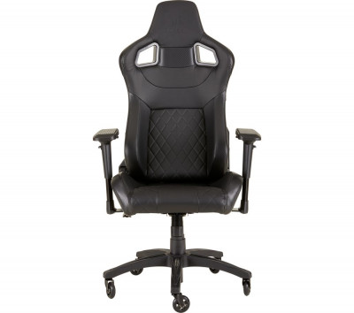 Save £40 at Currys on CORSAIR T1 Race Gaming Chair - Black, Black