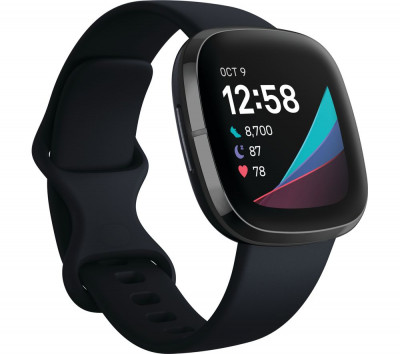 Save £40 at Currys on FITBIT Sense - Carbon & Graphite, Graphite