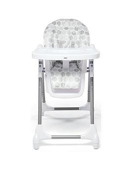 Save £10 at Very on Mamas & Papas Snax Highchair - Grey Hexagons