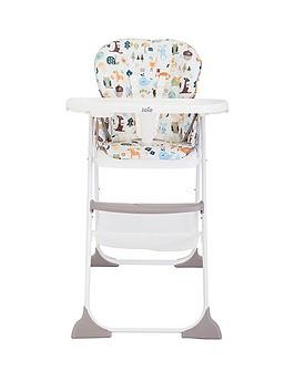 Save £10 at Very on Joie Mimzy Snacker Highchair - Alphabet