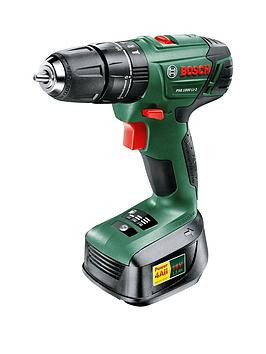 Save £81 at Very on Bosch Cordless Hammer Drill Psb100 Li-2 And Battery 18V