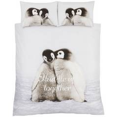 Save £9 at Argos on Catherine Lansfield Snuggly Penguin Bedding Set – Double