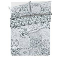 Save £8 at Argos on Argos Home Mosaic Bedding Set - Double