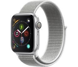 Save £70 at Currys on APPLE Watch Series 4 - Silver & Seashell Sports Loop, 40 mm