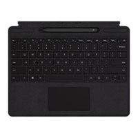 Save £24 at Scan on Microsoft Surface Pro X Signature Type Cover with Slim Pen Bundle Black Mechanical Keys/Clickpad, Function/Media Keys