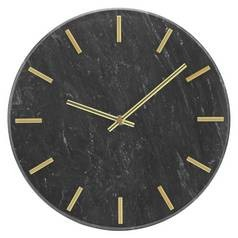 Save £11 at Argos on Argos Home Montgomery Marble Wall Clock - Black & Gold
