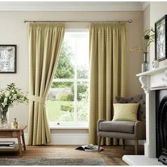 Save £32 at Argos on Curtina Marlowe Lined Curtains - 229x229cm - Natural
