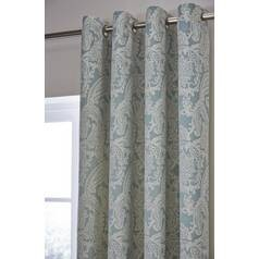 Save £26 at Argos on Catherine Lansfield Opulent Curtains - 168x229cm - Duck Egg