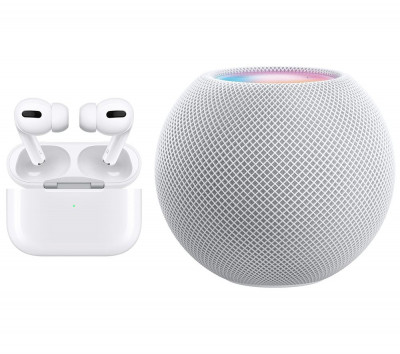 Save £43 at Currys on APPLE AirPods Pro & HomePod Mini Bundle - White, White