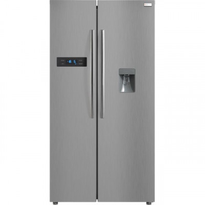 Save £100 at AO on Russell Hobbs RH90FF176SS-WD American Fridge Freezer - Stainless Steel - A+ Rated