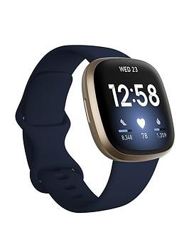 Save £21 at Very on Fitbit Versa 3 - Midnight/Soft Gold