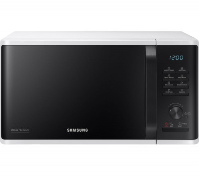 Save £40 at Currys on SAMSUNG MW3500K Solo Microwave - White & Black, White