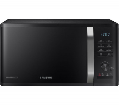 Save £40 at Currys on SAMSUNG MG23K3575AK/EU Heat Wave Microwave with Grill - Black, Black