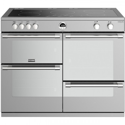 Save £300 at AO on Stoves Sterling Deluxe S1000EI 100cm Electric Range Cooker with Induction Hob - Stainless Steel - A/A/A Rated