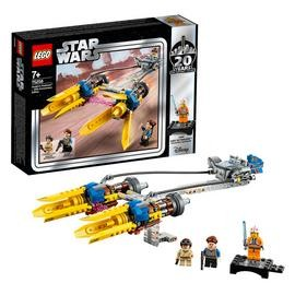 Save £2 at Argos on LEGO Star Wars Anakin Podracer 20th Anniversary Set - 75258