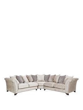 Save £500 at Very on Caprera Fabric Scatter Back Corner Group Sofa