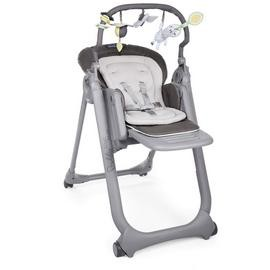 Save £16 at Argos on Chicco Polly Magic Relax 4 Wheel Highchair - Graphite